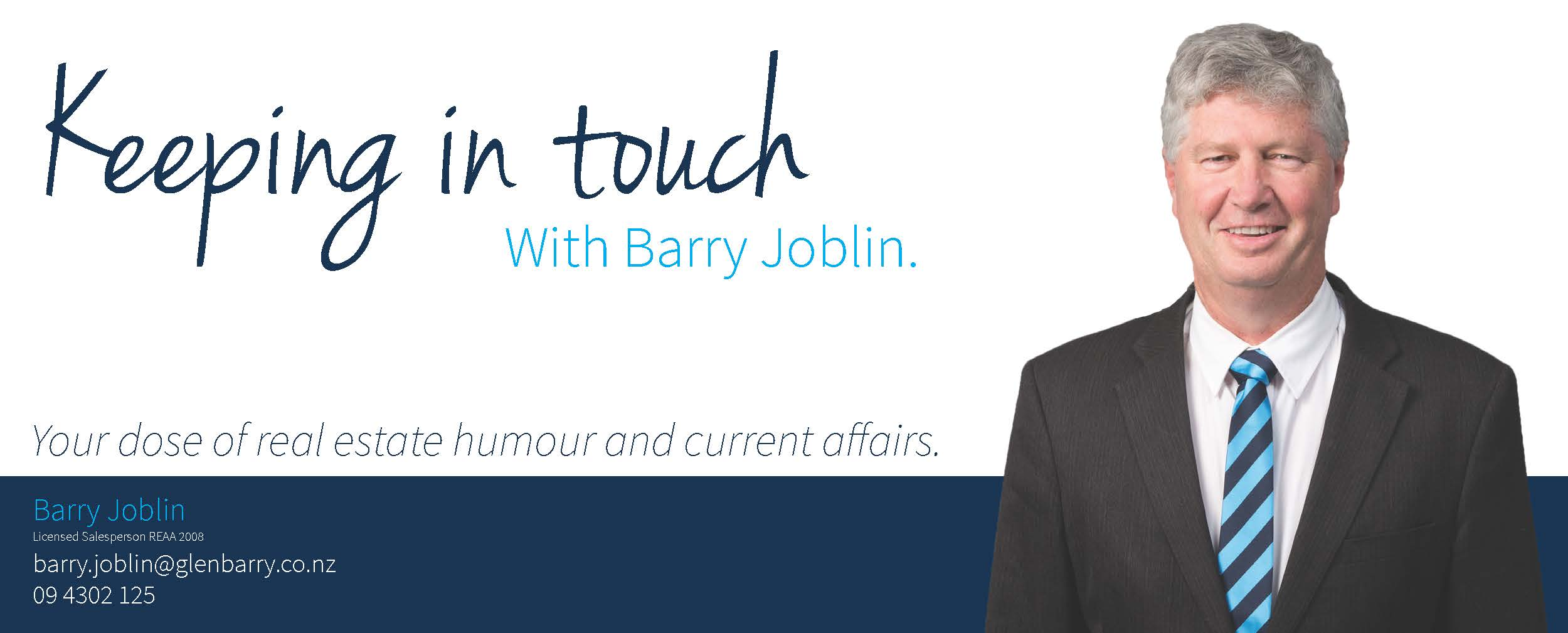 Barry - Email Header